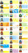 45 THOMAS THE TANK Personalised Name Stickers,Labels,Tags,