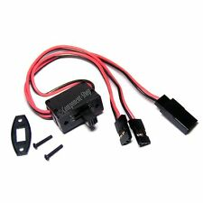 Futaba JR Hitec universal switch harness, 3 lead, UK seller