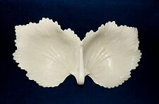 FINELY CRAFTED LENOX DOUBLE BOWLED ANGEL WINGS CANDY DISH NUT DISH BEAUTIFUL!