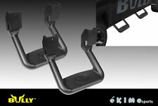 PAIR BULLY BLACK TRUCK SUV SIDE STEP NERF BAR FOR MAZDA MITSUBISHI FORD GMC JEEP