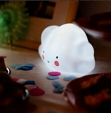 Night Light Children Toy Bedroom Nursery Lamp Cloud Shape With Batteries S5