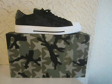 Valentino Garavani Camo Star Printed Rock Studs Sole Low-Top Sneakers