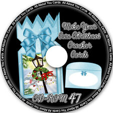 Make Your Own Christmas Cracker Cards CD-ROM 47