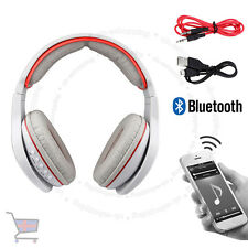 New Grey Multi Function LED Bluetooth Wireless TF MIC Hands-free Headset UKES