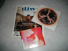 "Devil In The Woods Magazine 17/7"" Vinyl/CD non lp song Modest Mouse/Get Up Kids+"