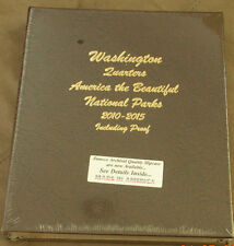 Dansco Coin Album 8146 National Parks Quarters PDSS 2010-2015 Volume 1