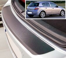 Vauxhall/Opel Astra MK5 hatchback - Carbon Style rear Bumper Protector
