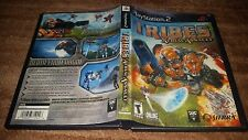 TRIBES AERIAL ASSAULT PLAYSTATION 2 PS2 EX+NM CONDITION COMPLETE!