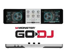 Monster Go DJ Portable Touch System Stand Along Remix Studio Mixer DJ controller