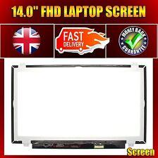 """AU Optronics B140HAN01.1 h/w:1a f/w:1 14"""" Laptop FHD Screen 30 Pin 1920 X 1080"""