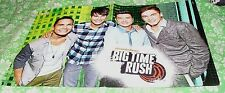 GERMAN MAGAZINE YEAH! CENTERFOLD POSTER WITH BIG TIME RUSH / VICTORIOUS