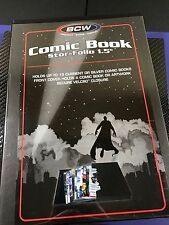 BCW Comic Stor-Folio Storage Travel Box Case For Modern and Silver Age Comics