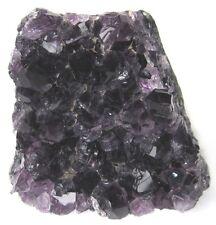 """AMETHYST Crystals FREE STANDING Cut Base 3.75"""" Polished Specimen Geode Cluster"""