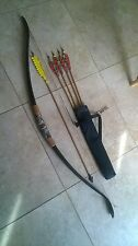 Archery Recurve pvc bow takdwn Hunt/target 45# BOW, arrows,quiver & target