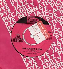 THE JOHN SCHROEDER ORCHESTRA the fugitive theme 1965 UK PICCADILLY 45
