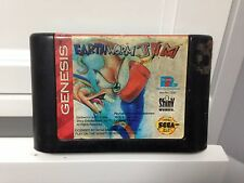 **Sega Genesis Earthworm Jim **CART ONLY** Tested/working