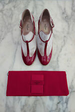 SOLD OUT NEW $1K VALENTINO Red Scarlet T Strap Mary Jane Pumps MOST WANTED 10 40