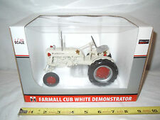 Farmall Cub White Demonstrator   2009 Lafayette Farm Toy Show   By SpecCast