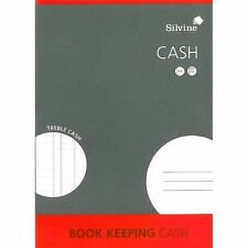 Silvine A4 Accounts  Book Keeping  Treble Cash  *** Free UK Delivery ***