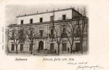 SULMONA  -  Palazzo Bellei alla Villa