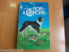 romanzo NOPS IL CAMPIONE  DONALD McCAIG  RIZZOLI 1°ED.1985