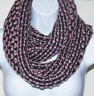 Fall Winter Fashion Women twotone infinity Scarf Cowl Neck Scarf 4 colors