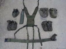 British Military Army Olive Green PLCE Webbing Set, Pouches, Yoke, Belt,Scabbard
