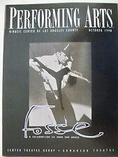FOSSE Playbill VALARIE PETTIFORD / JANE LANIER / SCOTT WISE Tryout LA 1998