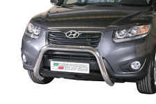 "Hyundai Santa Fe 2010-2012 Ø76 BULL BAR NUDGE BAR LEGAL""CE APPROVED"" Frontbügel"