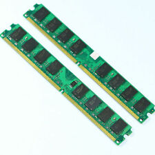 NEW 4GB 2X 2GB DDR2 667 PC2-5300 667MHZ 240PIN DIMM MEMORY For Intel CPU Desktop