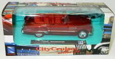 Buick Roadmaster - Met Red  1/43  By City Cruiser Collection Model Car refboxz18