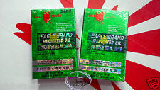 Eagle Brand Medicated Oil Pain Relief Dau Xanh Con O 24ml Ointments oils 2x