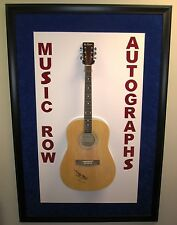 PETER FRAMPTON Signed Autograph Acoustic Guitar Rock Music Humble Pie & The Herd
