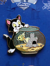 Disney DisneyStore.com - 110th Legacy Collection Figaro and Cleo Pinocchio Pin