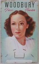 Dolores Del Rio for Woodbury Face Powder, Advertising Sign, 1940's