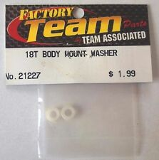 NEW Team Associated RC #21227 18T Body Mount Washer (2) RC18T