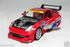 Newray 1:24 DIECAST X-Tuner Nissan Fairlady 350Z Car Red Color Model COLLECTION