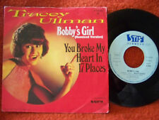 Tracey Ullman - Bobby´s girl / You broke my heart in 17 places  Stiff 45