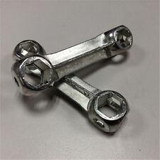6-15 mm per bicicletta, a forma di osso-Chiave esagonale, 10 fori per riparazion