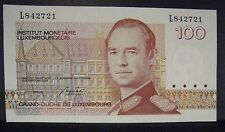 1986 Luxembourg 100 Francs Ch. Uncirculated Note    ** FREE U.S SHIPPING **