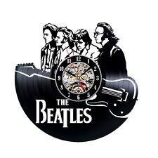 The Beatles_Exclusive wall clock made of vinyl record_GIFT