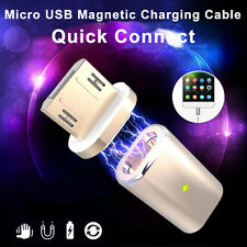 Micro USB Magnetic Adapter Charger Cable Metal Plug For Android Samsung LG