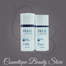 Obagi Nu-Derm Kit of 2, Normal/Dry Skin Gentle Cleanser&Toner,TRAVEL SIZE SEALED
