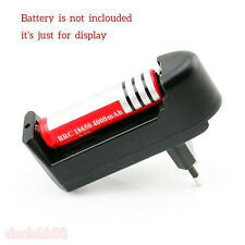 Rechargeable Chargeur For 3.7V 18650 16340 14500 Batterie Li-ion prise EU
