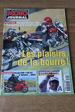 MOTO JOURNAL N°1344 CBR 1100 XX HONDA 600 HORNET HUSQVARNA 610 SUPERMOTARD '98