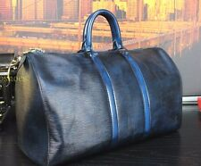 "LOUIS VUITTON 100% Authentic  18"" Hand Burnished Duffle Carry All Bag Mens"