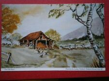 POSTCARD THE OLD BARN WATER COLOUR