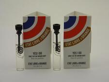2 x Etat Libre D'Orange YES I DO EDP Deluxe Vial Sample 1.5ml 0.05 fl oz