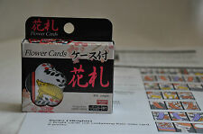 Hanafuda Japanese Flower Card Game Plastic w Illustrated Instructions US Seller