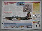 Aircraft of the World Card 139 , Group 4 - Beech T-34 Mentor/Turbo Mentor